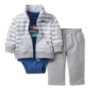 Carter's® Shark 3-pc. Pant Set - Boys newborn-24m