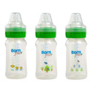 Born Free® 3-pk. 9 oz. Deco Bottle Set