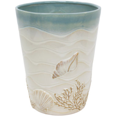 jcpenney.com | Bacova Coastal Moonlight Wastebasket