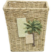 Citrus Palm Wastebasket