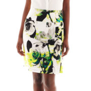Worthington® Drop-Waist Pleated Skirt