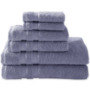 Royal Velvet® Pure Perfection™ 6-pc. Bath Towel Set