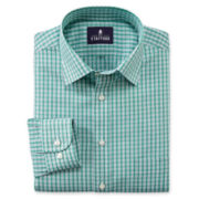 Stafford® Travel Easy-Care Broadcloth Dress Shirt-Big