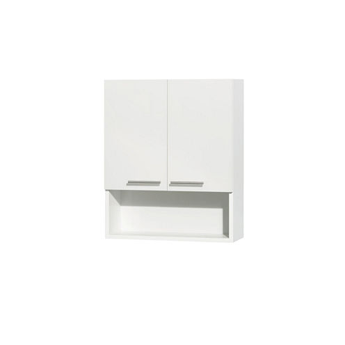 Wyndham Collection Amare Bathroom Wall-Mounted Two-Door Storage Cabinet