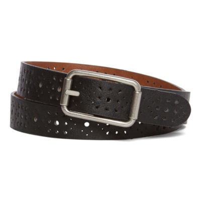 Relic by Fossil Womens Emboss Reversible Belt