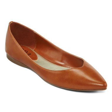 jcpenney.com | a.n.a® Comet Pointed-Toe Skimmer Flats