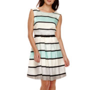 Danny & Nicole® Sleeveless Shantung Party Dress
