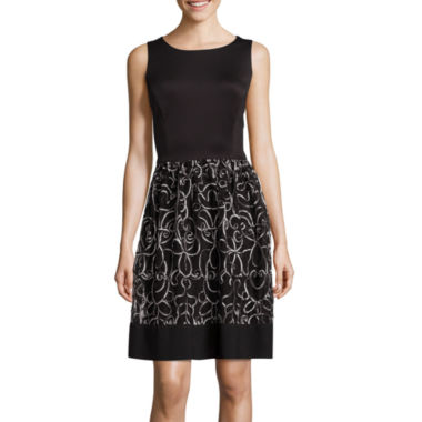 jcpenney.com | Ronni Nicole Fit-and-Flare Party Dress
