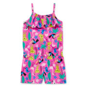 Okie Dokie® Sleeveless Popover Romper - Toddler Girls 2t-5t