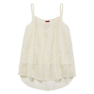 jcpenney.com | Arizona Allover Lace Tank Top - Girls 7-16 and Plus