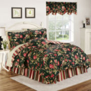 Waverly® Charleston Chirp Noir Reversible Quilt Set