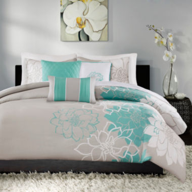 jcpenney.com | Madison Park Brianna 6-pc. Duvet Set