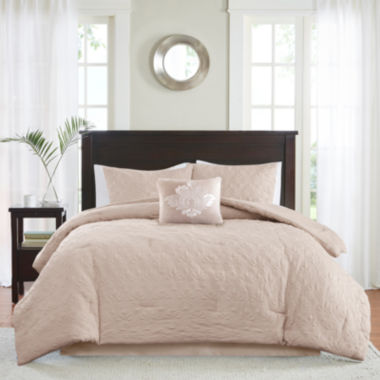 jcpenney.com | Madison Park Mansfield 5-pc. Comforter Set