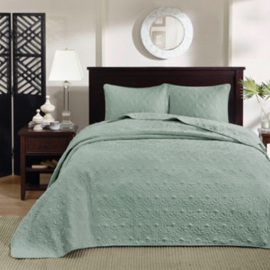 jcpenney.com | Madison Park Mansfield 2-pc. Coverlet Set