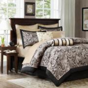 Madison Park Wellington Jacquard 12-pc. Comforter Set