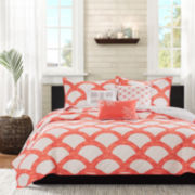 Madison Park Negril 6-pc. Coverlet Set