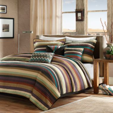 jcpenney.com | Madison Park Sequoia Twin/Twin XL 5-pc. Coverlet Set