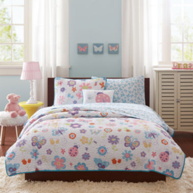 jcpenney.com | Mi Zone Butterfly Bonanza Complete Bedding Set with Sheets