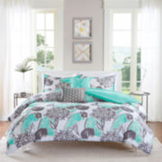 Intelligent Design Lily Duvet Cover Set