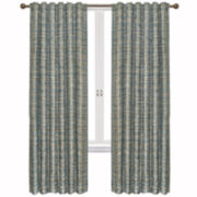 Vue Signature Fishnet Room-Darkening Rod-Pocket/Back-Tab Curtain Panel