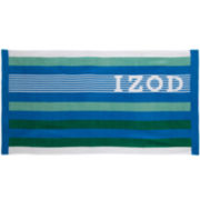 IZOD® Racing Stripe Beach Towel