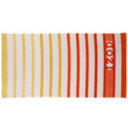 IZOD® Ombré Stripe Beach Towel
