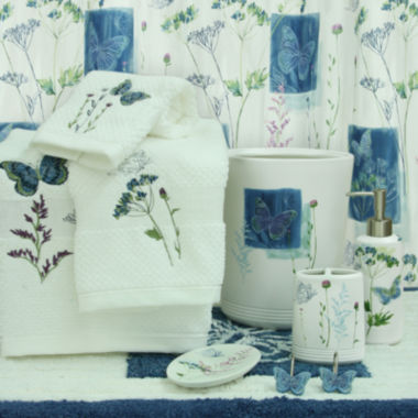 jcpenney.com | Bacova Indigo Wildflowers Bath Collection