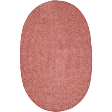 jcpenney.com | Better Trends Chenille Braid Oval Rug