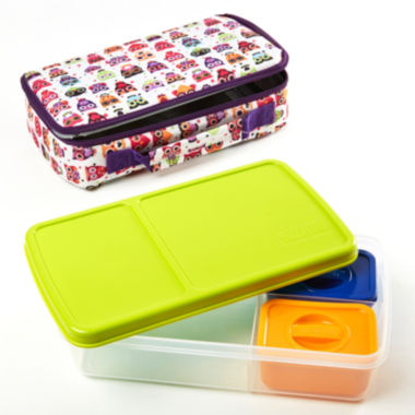 jcpenney.com | Fit & Fresh® Bento Hoot 4-pc. Kids Lunch Kit
