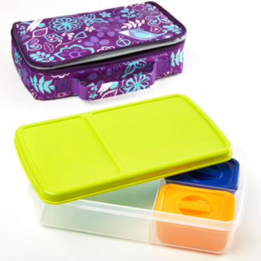 jcpenney.com | Fit & Fresh® Bento Woodstock 4-pc. Kids Lunch Kit