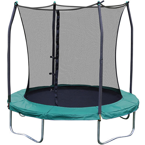 Skywalker Trampolines® 8' Round Trampoline with Enclosure Net