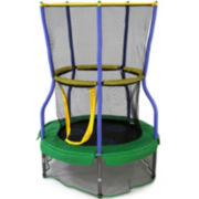 """Skywalker Trampolines® 40"""" Round Lily Pad Adventure Bouncer with Enclosure"""