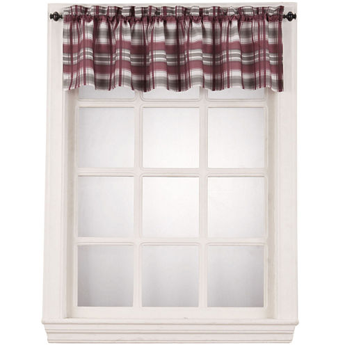 Dawson Rod-Pocket Tailored Valance