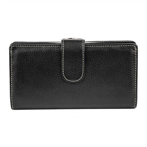 Mundi® Rio Leather Frame Clutch Wallet