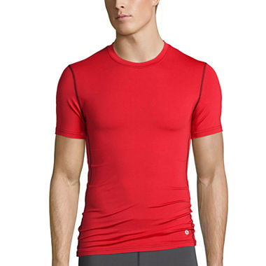 Xersion Mens Compression Crew T-Shirts (Multiple Colors)