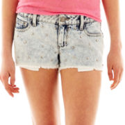 Decree® Studded Shorts