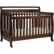 DaVinci Emily 4-in-1 Convertible Crib - Coffee
