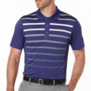 PGA TOUR® Short-Sleeve Fading Stripe Polo