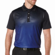 PGA TOUR® Short-Sleeve Embossed Ombre Polo