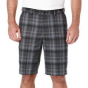 PGA TOUR® Plaid Performance Shorts