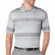 PGA TOUR® Short-Sleeve Stripe Jacquard Polo