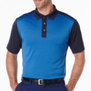 PGA TOUR® Short-Sleeve Argyle Jacquard Polo