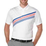 PGA TOUR® Short-Sleeve Printed Flag Polo