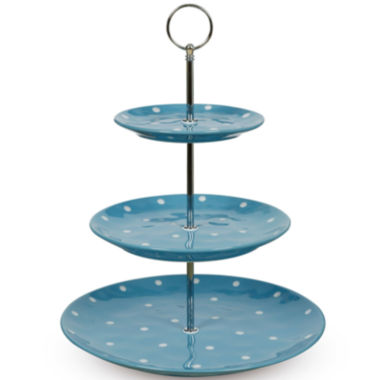 jcpenney.com | Maxwell & Williams™ Sprinkle Polka Dot 3-Tier Cake Stand