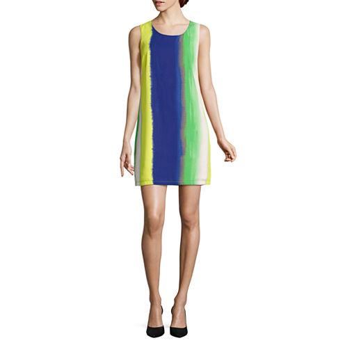 AVI-8 Sleeveless Embellished Shift Dress