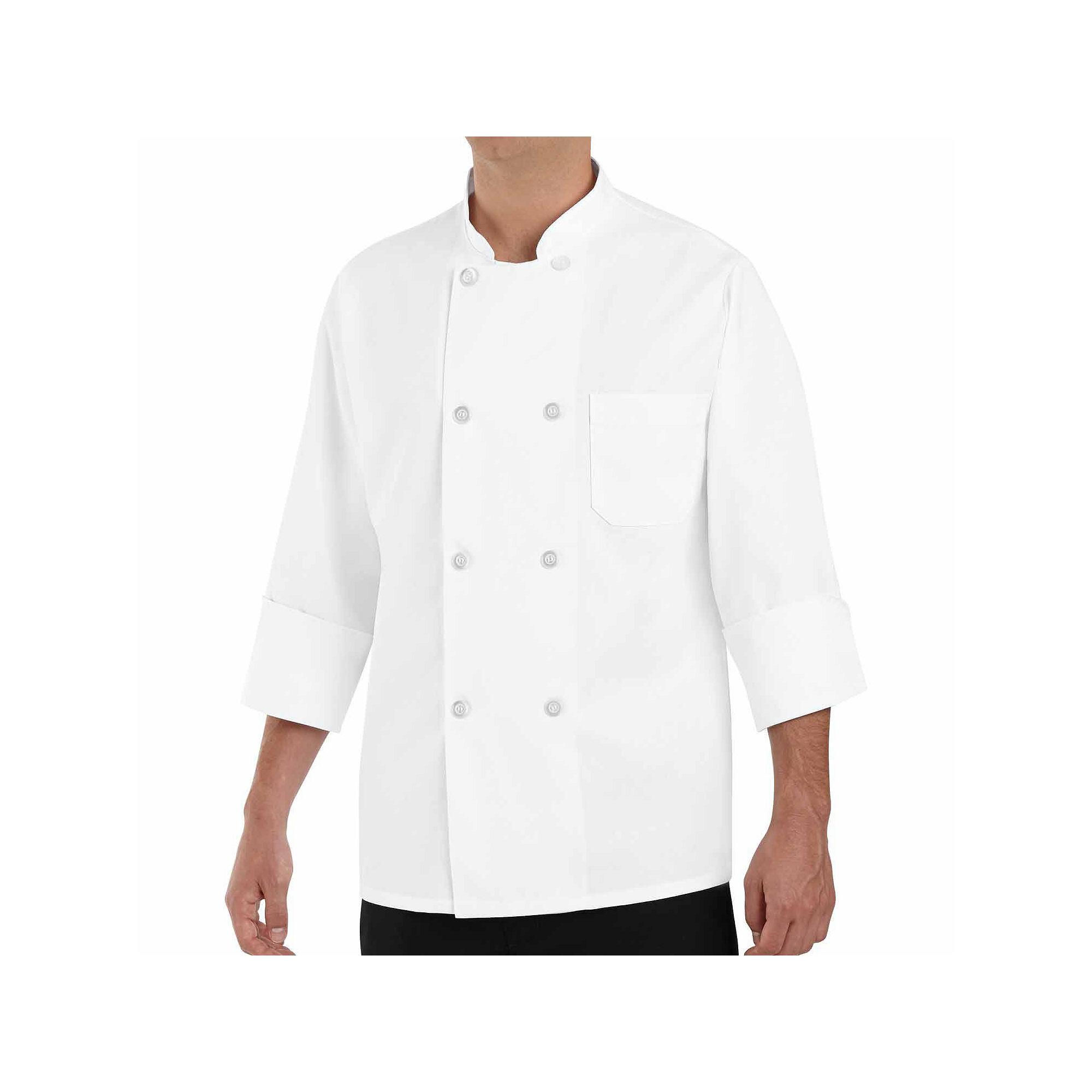 Chef Designs Long-Sleeve Chef Coat plus size,  plus size fashion plus size appare