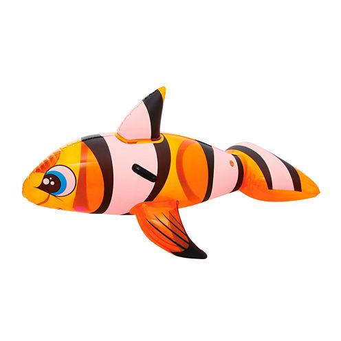 Bestway H2OGO 62 Inch x 37 Inch Clown Fish Rider