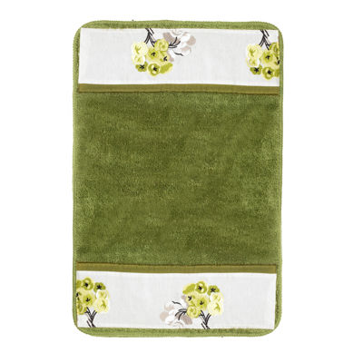 Popular Bath Canteen Flower Bath Rug Collection