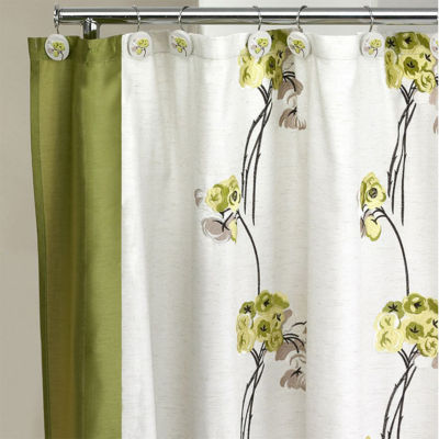 Popular Bath Canteen Flower Shower Curtain