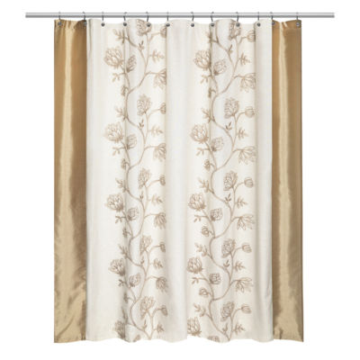 Popular Bath Maddie Shower Curtain Color Beige Jcpenney